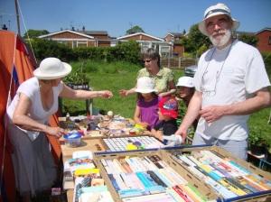 A sunny day for the Summer fair